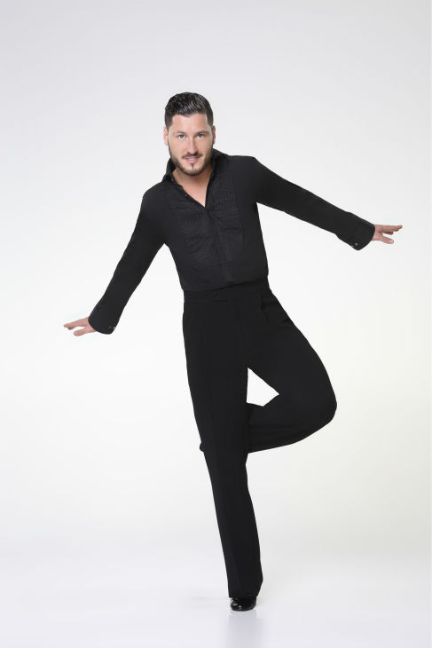 "<div class=""meta ""><span class=""caption-text "">'Dancing With The Stars' pro-dancer Val Chmerkovskiy appears in an official cast photo ahead of the Fall 2013 premiere of the ABC show. His partner is Elizabeth Berkley Lauren of 'Saved By The Bell' and 'Showgirls' fame. (ABC Photo / Craig Sjodin)</span></div>"