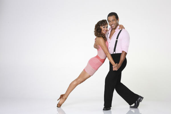 'Dancing With the Stars' season 17 cast member Corbin Bleu, known for his role in Disney's 'High School Musical' films, appears with dance partner Karina Smirnoff in an official cast photo, ahead of the Fall 2013 premiere of the ABC show.
