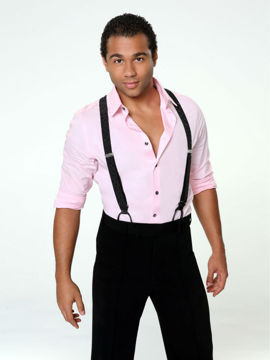 'Dancing With The Stars' cast member Corbin Bleu of 'High School Musical' fame appears in an official cast photo ahead of the Fall 2013 premiere of the ABC show. His partner is Karina Smirnoff.