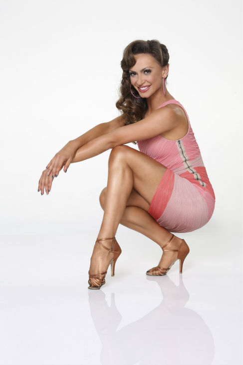 "<div class=""meta image-caption""><div class=""origin-logo origin-image ""><span></span></div><span class=""caption-text"">'Dancing With The Stars' pro-dancer Karina Smirnoff appears in an official cast photo ahead of the Fall 2013 premiere of the ABC show. Her partner is Corbin Bleu of 'High School Musical' fame. (ABC Photo / Craig Sjodin)</span></div>"