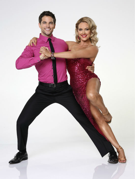 &#39;Dancing With the Stars&#39; season 17 cast member Brant Daugherty, formerly of the ABC Family show &#39;Pretty Little Liars,&#39; appears with dance partner Peta Murgatroyd in an official cast photo, ahead of the Fall 2013 premiere of the ABC show. <span class=meta>(ABC Photo &#47; Craig Sjodin)</span>