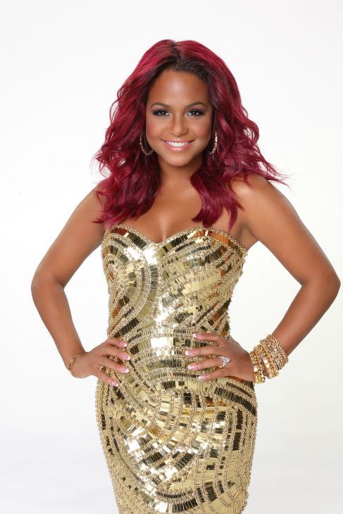 &#39;Dancing With The Stars&#39; cast member and singer Christina Milian of &#39;The Voice&#39; fame appears in an official cast photo ahead of the Fall 2013 premiere of the ABC show. Her partner is Mark Ballas. <span class=meta>(ABC Photo &#47; Craig Sjodin)</span>