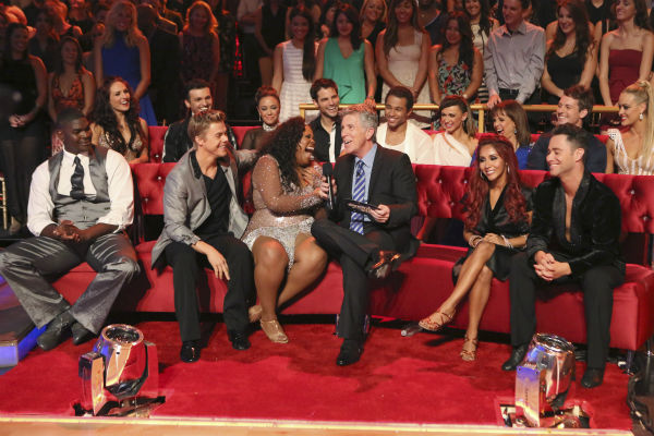 The cast of &#39;Dancing With The Stars&#39; season 17 appears on the premiere on Sept. 16, 2013. <span class=meta>(ABC Photo &#47; Adam Taylor)</span>