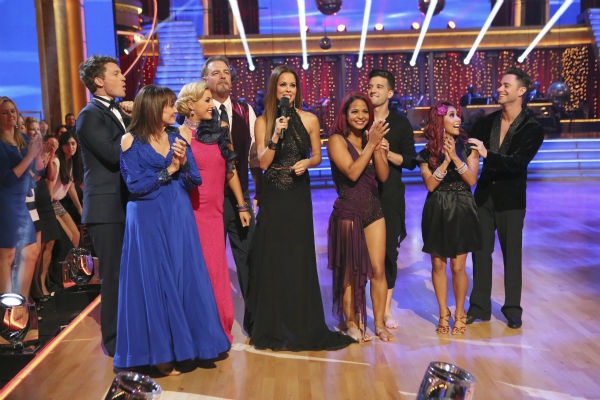 The cast of 'Dancing With The Stars' season 17 appears on the premiere on Sept. 16, 2013.