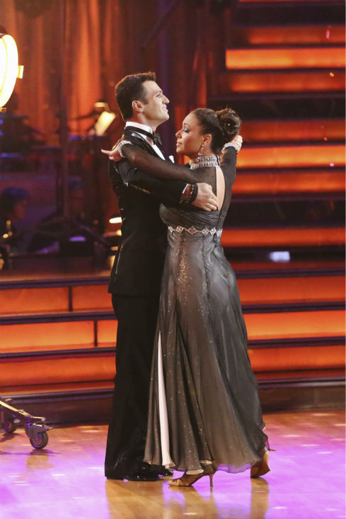 Leah Remini and Tony Dovolani dance the Foxtrot on week one of &#39;Dancing With The Stars&#39; on Sept. 16, 2013. They received 21 out of 30 points from the judges. <span class=meta>(ABC Photo &#47; Adam Taylor)</span>