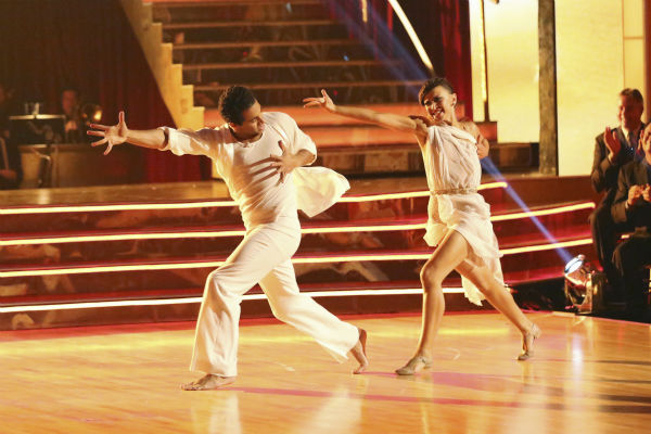 Corbin Bleu and Karina Smirnoff dance the Contemporary on week one of &#39;Dancing With The Stars&#39; on Sept. 16, 2013. They received 24 out of 30 points from the judges. <span class=meta>(ABC Photo &#47; Adam Taylor)</span>