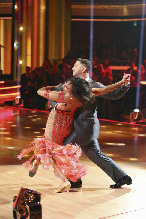 Jack Osbourne and Cheryl Burke dance the Foxtrot on week one of &#39;Dancing With The Stars&#39; on Sept. 16, 2013. They received 23 out of 30 points from the judges. <span class=meta>(ABC Photo &#47; Adam Taylor)</span>
