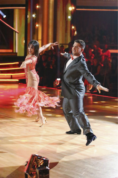 Jack Osbourne and Cheryl Burke dance the Foxtrot on week one of 'Dancing With The Stars' on Sept. 16, 2013. They received 23 out of 30 points from the judges.