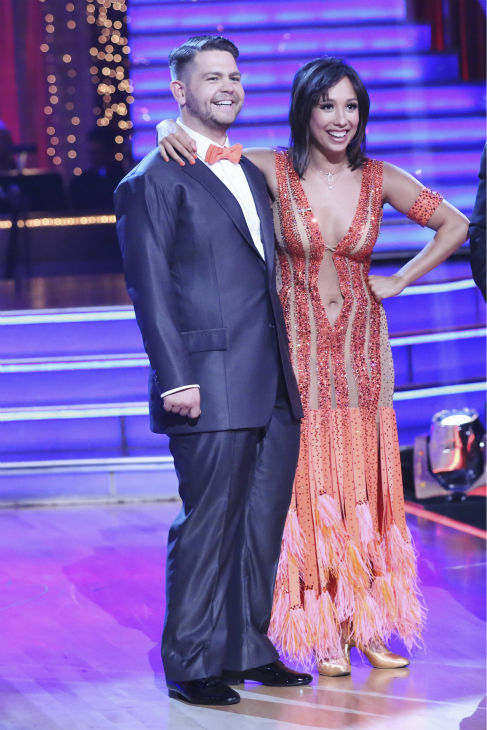"<div class=""meta image-caption""><div class=""origin-logo origin-image ""><span></span></div><span class=""caption-text"">Jack Osbourne and Cheryl Burke danced the Foxtrot on week one of 'Dancing With The Stars' on Sept. 16, 2013. They received 23 out of 30 points from the judges. (ABC Photo / Adam Taylor)</span></div>"