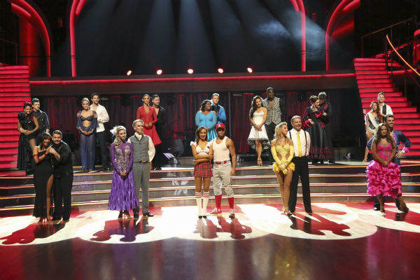 DANCING WITH THE STARS - &#34;Episode 1702&#34; - The competition heated up on a Latin-themed &#34;Dancing with the Stars&#34; as the celebrities took on new dance routines - a Samba, Jive, Rumba or Paso - and fought for survival, MONDAY, SEPTEMBER 23 &#40;8:00-10:01 p.m., ET&#41;, on the ABC Television Network.  &#40;ABC&#47;Adam Taylor&#41; CHRISTINA MILIAN, MARK BALLAS, CHERYL BURKE, JACK OSBOURNE, PETA MURGATROYD, BRANT DAUGHERTY, TYNE STECKLEIN, BILL NYE, ELIZABETH BERKLEY LAUREN, VAL CHMERKOVSKIY, KARINA SMIRNOFF, AMBER RILEY, DEREK HOUGH, CORBIN BLEU, SHARNA BURGESS, KEYSHAWN JOHNSON, EMMA SLATER, BILL ENGVALL, VALERIE HARPER, TRISTAN MACMANUS, NICOLE &#34;SNOOKI&#34; POLIZZI, SASHA FARBER, LEAH REMINI, TONI DOVOLANI <span class=meta>(ABC Photo &#47; Adam Taylor)</span>