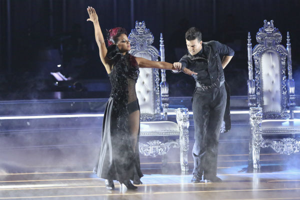 "<div class=""meta image-caption""><div class=""origin-logo origin-image ""><span></span></div><span class=""caption-text"">Christina Milian and Mark Ballas dance the Paso Doble on week 2 of 'Dancing With The Stars' on Sept. 23, 2013. They received 25 out of 30 points from the judges. (ABC Photo / Adam Taylor)</span></div>"