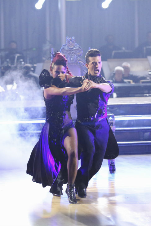 Christina Milian and Mark Ballas dance the Paso Doble on week 2 of &#39;Dancing With The Stars&#39; on Sept. 23, 2013. They received 25 out of 30 points from the judges. <span class=meta>(ABC Photo &#47; Adam Taylor)</span>
