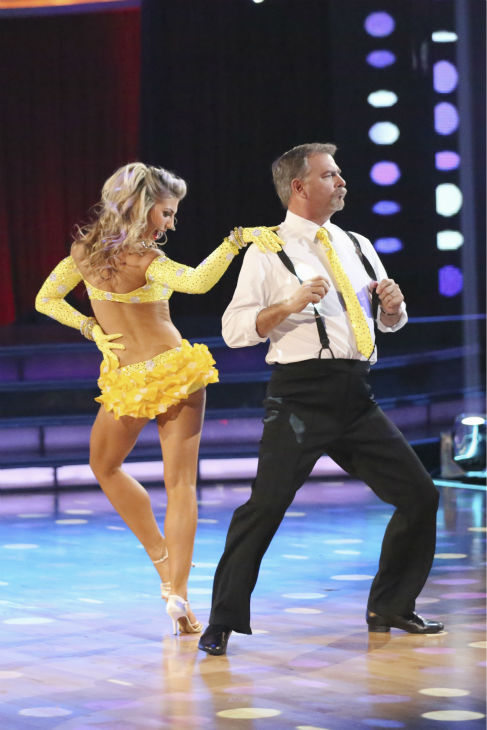 "<div class=""meta ""><span class=""caption-text "">Bill Engvall and Emma Slater dance the Jive on week 2 of 'Dancing With The Stars' on Sept. 23, 2013. They received 21 out of 30 points from the judges. (ABC Photo/ Adam Taylor)</span></div>"