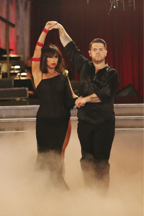 Jack Osbourne and Cheryl Burke dance the Rumba on week 2 of &#39;Dancing With The Stars&#39; on Sept. 23, 2013. They received 24 out of 30 points from the judges. <span class=meta>(ABC Photo &#47; Adam Taylor)</span>