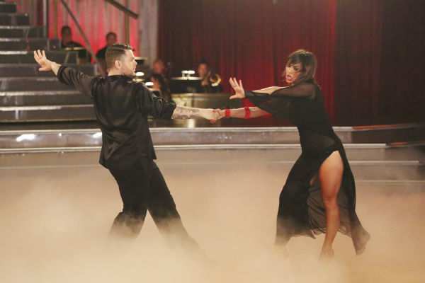 "<div class=""meta ""><span class=""caption-text "">Jack Osbourne and Cheryl Burke dance the Rumba on week 2 of 'Dancing With The Stars' on Sept. 23, 2013. They received 24 out of 30 points from the judges. (ABC Photo / Adam Taylor)</span></div>"