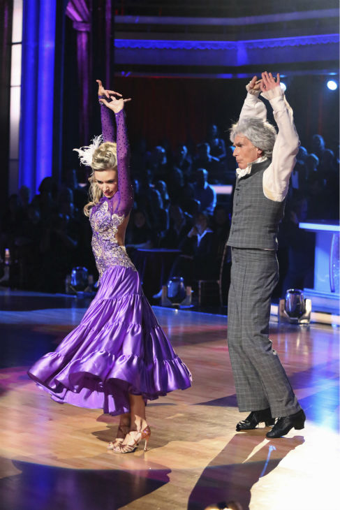 "<div class=""meta ""><span class=""caption-text "">Bill Nye and Tyne Stecklein dance the Paso Doble on week 2 of 'Dancing With The Stars' on Sept. 23, 2013. They received 17 out of 30 points from the judges. (ABC Photo / Adam Taylor)</span></div>"