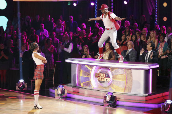 Corbin Bleu and Karina Smirnoff dance the Jive on week 2 of 'Dancing With The Stars' on Sept. 23, 2013. They received 26 out of 30 points from the judges.
