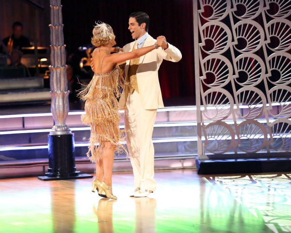 Brant Daugherty and Peta Murgatroyd dance the Quickstep on week three of &#39;Dancing With The Stars&#39; on Sept. 30, 2013. They received 27 out of 30 points from the judges. <span class=meta>(ABC Photo &#47; Adam Taylor)</span>