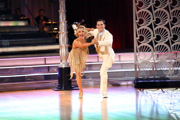 "<div class=""meta ""><span class=""caption-text "">Brant Daugherty and Peta Murgatroyd dance the Quickstep on week three of 'Dancing With The Stars' on Sept. 30, 2013. They received 27 out of 30 points from the judges. (ABC Photo / Adam Taylor)</span></div>"