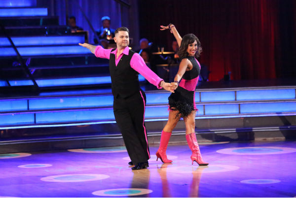 Jack Osbourne and Cheryl Burke dance the Cha Cha Cha on week three of &#39;Dancing With The Stars&#39; on Sept. 30, 2013. They received 22 out of 30 points from the judges. <span class=meta>(ABC Photo &#47; Adam Taylor)</span>