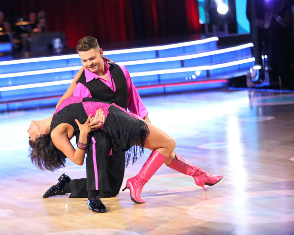 "<div class=""meta ""><span class=""caption-text "">Jack Osbourne and Cheryl Burke dance the Cha Cha Cha on week three of 'Dancing With The Stars' on Sept. 30, 2013. They received 22 out of 30 points from the judges. (ABC Photo / Adam Taylor)</span></div>"