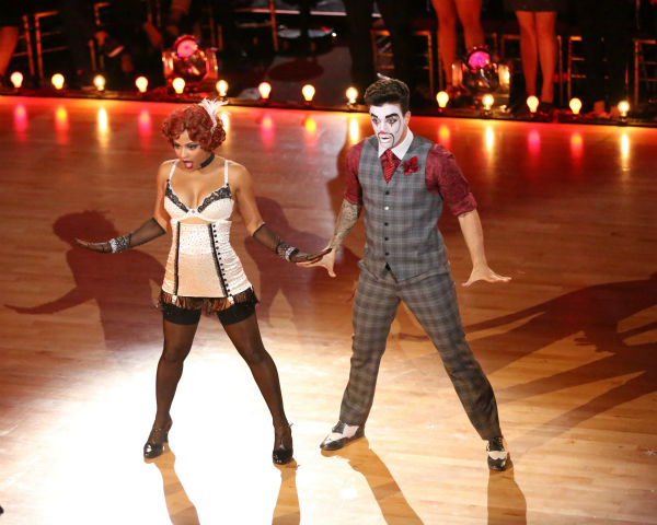 "<div class=""meta ""><span class=""caption-text "">Christina Milian and Mark Ballas dance the Charleston on week three of 'Dancing With The Stars' on Sept. 30, 2013. They received 26 out of 30 points from the judges. (ABC Photo / Adam Taylor)</span></div>"