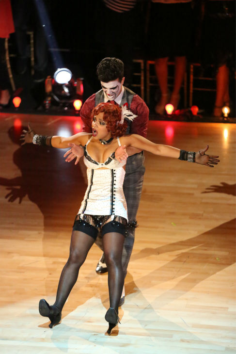 Christina Milian and Mark Ballas dance the Charleston on week three of &#39;Dancing With The Stars&#39; on Sept. 30, 2013. They received 26 out of 30 points from the judges. <span class=meta>(ABC Photo &#47; Adam Taylor)</span>