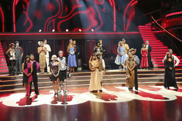 The cast of &#39;Dancing With The Stars&#39; season 17 appears on the ballroom dance floor on week 3 on Sept. 30, 2013. <span class=meta>(ABC Photo &#47; Adam Taylor)</span>