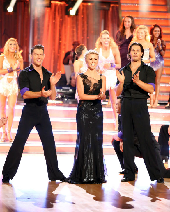 &#39;Dancing With The Stars&#39; alum Julianne Hough appears on week four of the ABC show on Oct. 7, 2013.  <span class=meta>(ABC Photo &#47; Adam Taylor)</span>