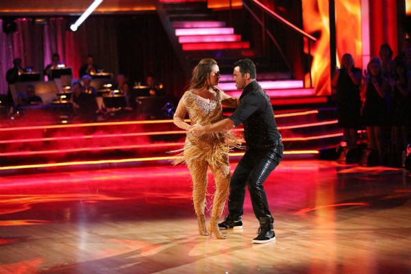 Leah Remini and Tony Dovolani dance the Cha Cha Cha on week four of &#39;Dancing With The Stars&#39; on Oct. 7, 2013. They received 24 out of 30 points from the judges. <span class=meta>(ABC Photo &#47; Adam Taylor)</span>