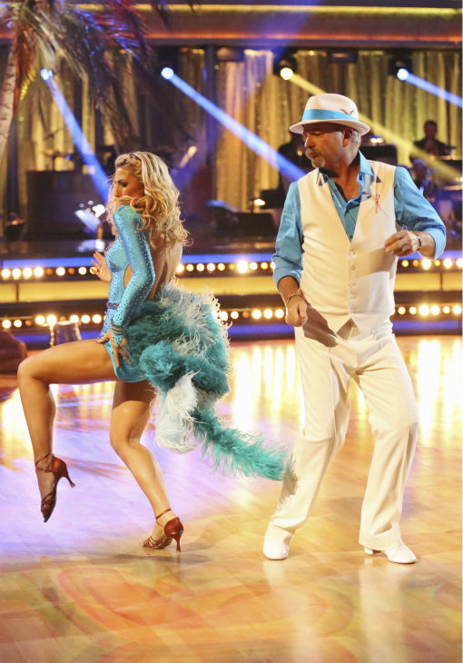 Bill Engvall and Emma Slater dance the Samba on week four of &#39;Dancing With The Stars&#39; on Oct. 7, 2013. They received 21 out of 30 points from the judges. <span class=meta>(ABC Photo &#47; Adam Taylor)</span>