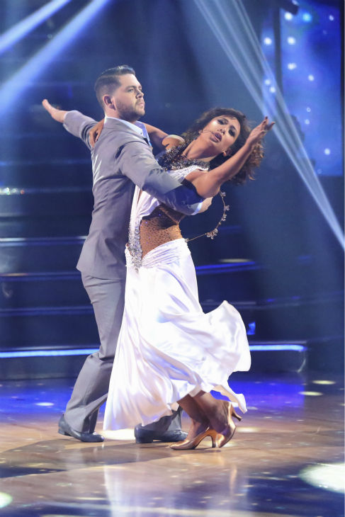 "<div class=""meta ""><span class=""caption-text "">Jack Osbourne and Cheryl Burke dance the Waltz on week five of 'Dancing With The Stars' on Oct. 14, 2013. They received 27 out of 30 points from the judges. (ABC Photo / Adam Taylor)</span></div>"
