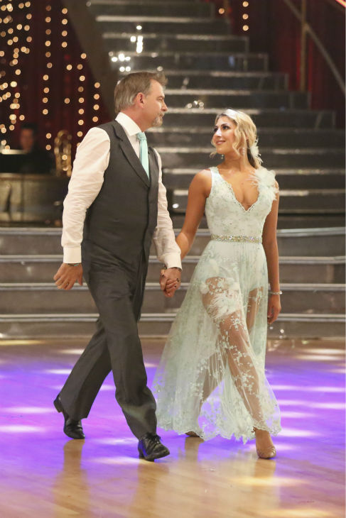 Bill Engvall and Emma Slater dance the Viennese Waltz on week five of &#39;Dancing With The Stars&#39; on Oct. 14, 2013. They received 24 out of 30 points from the judges. <span class=meta>(ABC Photo &#47; Adam Taylor)</span>