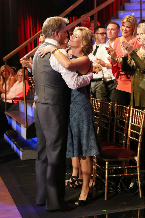 Bill Engvall ahugs his wife Gail on week five of &#39;Dancing With The Stars&#39; on Oct. 14, 2013. <span class=meta>(ABC Photo&#47; Adam Taylor)</span>