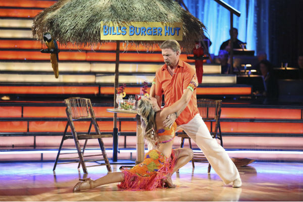 "<div class=""meta image-caption""><div class=""origin-logo origin-image ""><span></span></div><span class=""caption-text"">Bill Engvall and Emma Slater dance the Tango on week six of 'Dancing With The Stars' on Oct. 21, 2013. They received 23 out of 30 points from the judges. The two received 1 out of 4 extra points from the 'Switch-Up Challenge.' (ABC / Adam Taylor)</span></div>"