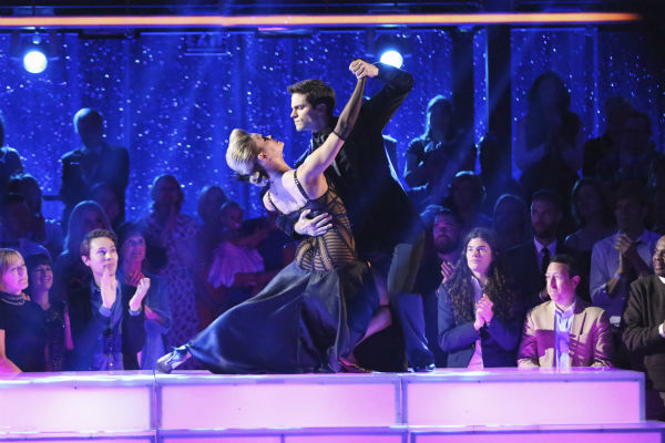 "<div class=""meta image-caption""><div class=""origin-logo origin-image ""><span></span></div><span class=""caption-text"">DANCING WITH THE STARS - ""Episode 1706"" - Eight remaining couples hit the dance floor and face an exciting new challenge on ""Dancing with the Stars,"" MONDAY, OCTOBER 21 (8:00-10:01 p.m., ET). Each couple competed in an individual dance style they have not yet done as well as take part in the first ever ""Switch-Up Challenge.""  (ABC/Adam Taylor) PETA MURGATROYD, BRANT DAUGHERTY (ABC / Adam Taylor)</span></div>"