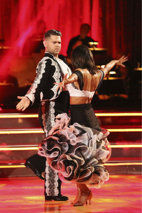"<div class=""meta image-caption""><div class=""origin-logo origin-image ""><span></span></div><span class=""caption-text"">Jack Osbourne and Cheryl Burke dance the Paso Doble on week six of 'Dancing With The Stars' on Oct. 21, 2013. They received 25 out of 30 points from the judges. The two received 2 out of 4 extra points from the 'Switch-Up Challenge.' (ABC / Adam Taylor)</span></div>"