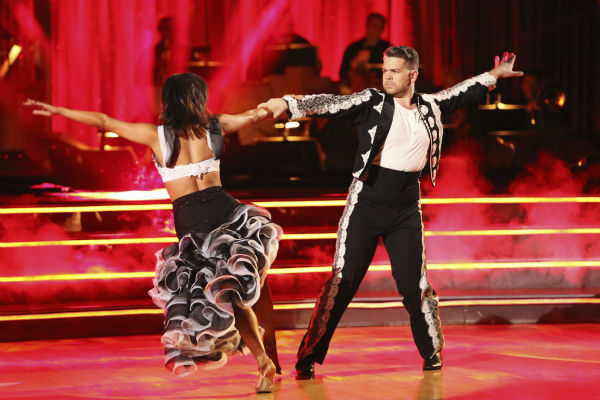 Jack Osbourne and Cheryl Burke dance the Paso Doble on week six of &#39;Dancing With The Stars&#39; on Oct. 21, 2013. They received 25 out of 30 points from the judges. The two received 2 out of 4 extra points from the &#39;Switch-Up Challenge.&#39; <span class=meta>(ABC &#47; Adam Taylor)</span>