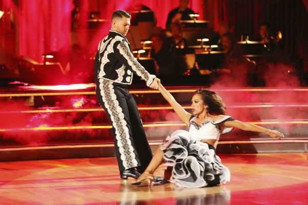 "<div class=""meta ""><span class=""caption-text "">Jack Osbourne and Cheryl Burke dance the Paso Doble on week six of 'Dancing With The Stars' on Oct. 21, 2013. They received 25 out of 30 points from the judges. The two received 2 out of 4 extra points from the 'Switch-Up Challenge.' (ABC / Adam Taylor)</span></div>"