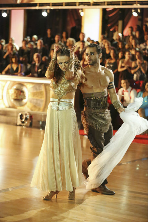 Corbin Bleu and Karina Smirnoff dance a &#39;Game of Thrones&#39;-themed Viennese Waltz on week six of &#39;Dancing With The Stars&#39; on Oct. 21, 2013. They received 23 out of 30 points from the judges. The two received 4 out of 4 extra points from the &#39;Switch-Up Challenge.&#39; <span class=meta>(ABC &#47; Adam Taylor)</span>