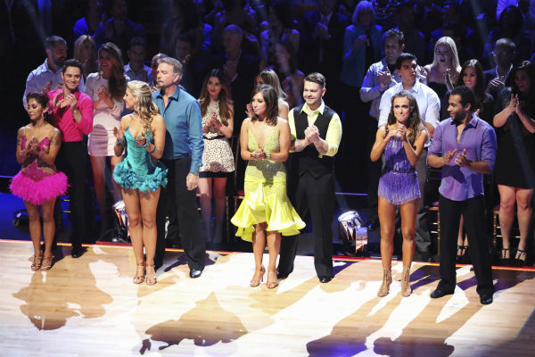 The cast of ABC's 'Dancing With The Stars' appears on week 6 on Oct. 21, 2013.