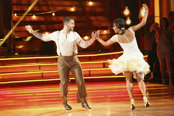 "<div class=""meta ""><span class=""caption-text "">Jack Osbourne and Cheryl Burke dance the Jive on week seven of 'Dancing With The Stars' on Oct. 28, 2013. They received 27 out of 30 points from the judges. The two received 30 out of 30 extra points from the team dance. (ABC Photo / Adam Taylor)</span></div>"