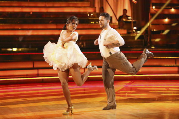 "<div class=""meta image-caption""><div class=""origin-logo origin-image ""><span></span></div><span class=""caption-text"">Jack Osbourne and Cheryl Burke dance the Jive on week seven of 'Dancing With The Stars' on Oct. 28, 2013. They received 27 out of 30 points from the judges. The two received 30 out of 30 extra points from the team dance. (ABC Photo / Adam Taylor)</span></div>"