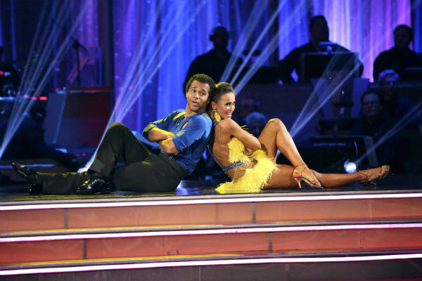 Corbin Bleu and Karina Smirnoff dance the Cha Cha Cha on week seven of &#39;Dancing With The Stars&#39; on Oct. 28, 2013. They received 29 out of 30 points from the judges. The two received 30 out of 30 extra points from the team dance. <span class=meta>(ABC Photo &#47; Adam Taylor)</span>