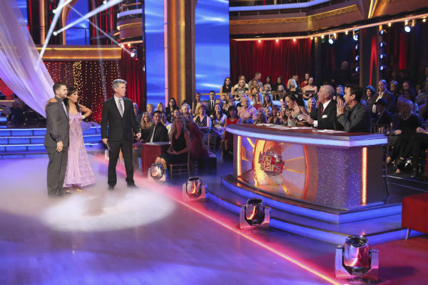 "<div class=""meta image-caption""><div class=""origin-logo origin-image ""><span></span></div><span class=""caption-text"">Jack Osbourne and Cheryl Burke await their fate on week nine of 'Dancing With The Stars' on Nov. 11, 2013. They received 29 out of 30 points from the judges for their Viennese Waltz. The two later received 25 out of 30 during the trio round with Sharna Burgess. (ABC Photo / Adam Taylor)</span></div>"