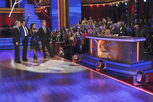 Leah Remini and Tony Dovolani danced the Tango on week nine of &#39;Dancing With The Stars&#39; on Nov. 11, 2013. They received 27 out of 30 points from the judges. The two later received 27 out of 30 during the trio round with Henry Byalikov. <span class=meta>(ABC Photo &#47; Adam Taylor)</span>