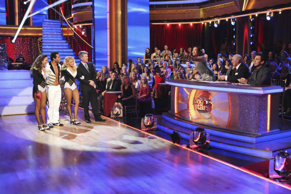Corbin Bleu and Karina Smirnoff danced the Waltz on week nine of &#39;Dancing With The Stars&#39; on Nov. 11, 2013. They received 28 out of 30 points from the judges. The two later received 30 out of 30 during the trio round with Witney Carson. <span class=meta>(ABC Photo &#47; Adam Taylor)</span>
