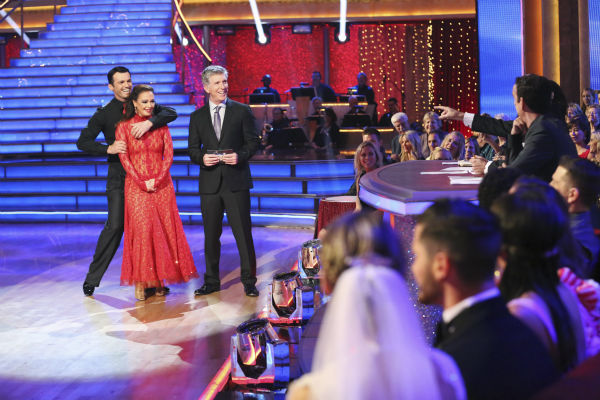 "<div class=""meta image-caption""><div class=""origin-logo origin-image ""><span></span></div><span class=""caption-text"">Leah Remini and Tony Dovolani danced the Tango on week nine of 'Dancing With The Stars' on Nov. 11, 2013. They received 27 out of 30 points from the judges. The two later received 27 out of 30 during the trio round with Henry Byalikov. (ABC Photo / Adam Taylor)</span></div>"