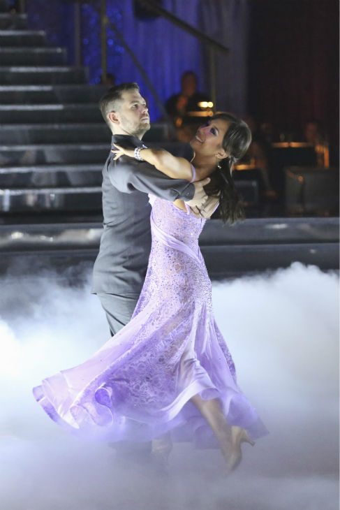 "<div class=""meta ""><span class=""caption-text "">Jack Osbourne and Cheryl Burke dance the Viennese Waltz on week nine of 'Dancing With The Stars' on Nov. 11, 2013. They received 29 out of 30 points from the judges. The two later received 25 out of 30 during the trio round with Sharna Burgess. (ABC Photo / Adam Taylor)</span></div>"