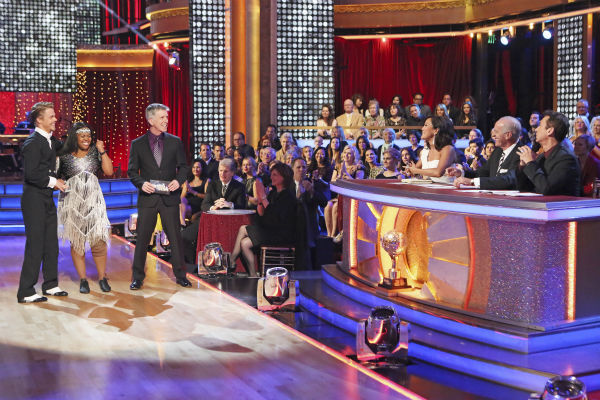 Amber Riley and Derek Hough danced their &#39;Judges&#39; Pick&#39; Charleston on week 11 of &#39;Dancing With The Stars&#39; on Nov. 25, 2013. They received 30 out of 30 points from the judges. The two scored a total of 64 out of 65 points for the night. <span class=meta>(ABC Photo &#47; Adam Taylor)</span>